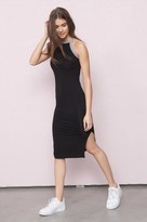Garage Sport Neck Midi Dress