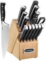 Cuisinart Classic Triple Rivet Collection 15pc Block Set- C77BR-15P
