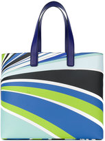 Emilio Pucci abstract print tote - women - Polyurethane - One Size