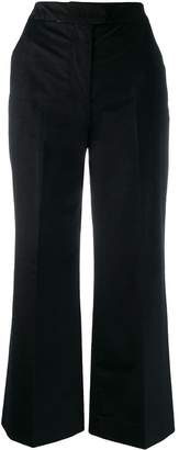 Pt01 corduroy flared trousers