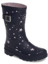 Joules Toddler Girl's Welly Printed Waterproof Rain Boot