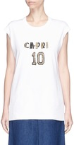 Dolce & Gabbana 'Capri 10' embellished oversized sleeveless T-shirt