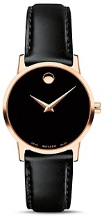 Movado Museum Classic Rose Gold-Tone Case Watch, 28mm