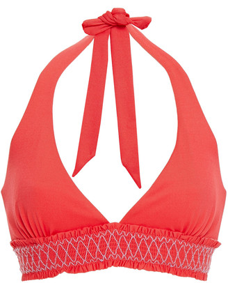 Heidi Klein Ruffle-trimmed Bikini Top