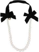 Lanvin Petite - pearl necklace - kids - Polyester - One Size