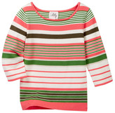 Milly Minis 3/4 Sleeve Top (Toddler & Little Girls)