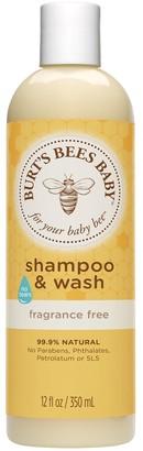 Burt's Bees Baby Bee Shampoo & Wash - Fragrance Free