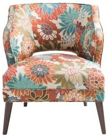 Madison Home USA Embry Open Back Accent Chair