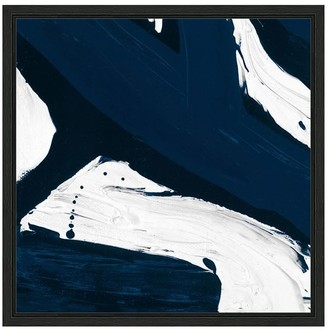 Pottery Barn Modern Abstract Canvas