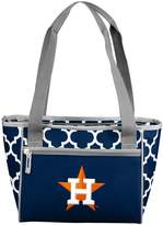 Logo Brand Houston Astros 16-Can Cooler Tote