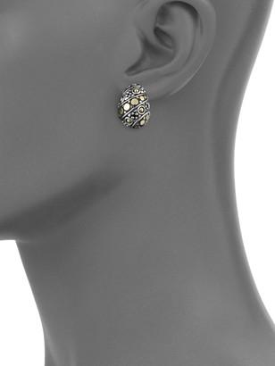 John Hardy Jaisalmer Buddha Belly Earrings