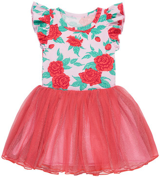 Bonds Girls Ruffle Sleeve Tutu Dress