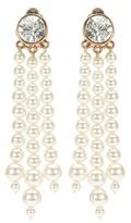 Stella McCartney Faux pearl clip-on earrings
