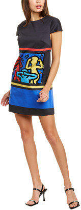 Alice + Olivia X Keith Haring Clyde Shift Dress