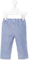 Il Gufo striped trousers - kids - Cotton/Spandex/Elastane - 6 mth
