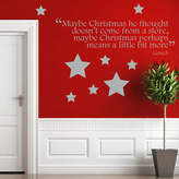 Ta-Dah Wall Art Christmas Grinch Quote Wall Sticker