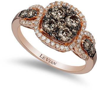 LeVian Le Vian 14K Strawberry Gold 1.06 Ct. Tw. Diamond Ring