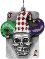 Summit Skull Jester Pendant Collectible Medallion Necklace Accessory Jewelry