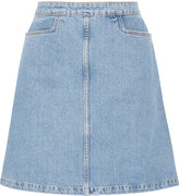 MiH Jeans Decade denim mini skirt
