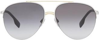 Burberry Aviator-Frame Sunglasses