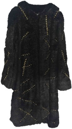 Moschino Black Faux fur Coat for Women
