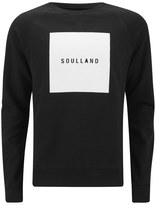 Soulland Hendricks Printed Sweater Black
