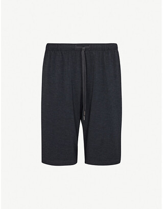 Derek Rose Men's Grey Marlowe Stretch-Jersey Shorts, Size: M