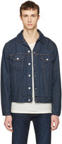 Acne Studios Blue Denim Beat Jacket