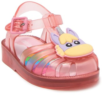 Mini Melissa Possession Unicorn Sandal (Toddler)