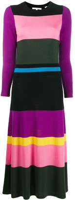 Parker Chinti & colour block dress