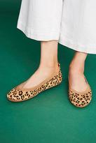 Yosi Samra Leopard Ballet Flats