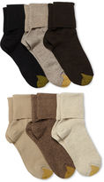 Gold Toe GoldToe 6-pk. Turn-Cuff Crew Socks - Extended Sizes