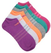 adidas 6 Pack Women's Superlight No Show Socks