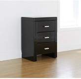 Venetain 3 Drawer Bedside with Bar Handle