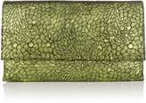Issa Lucia leather clutch