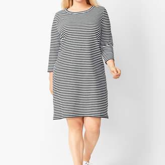 Talbots Stripe Terry Dress