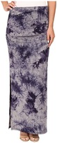 Three Dots Lea Shired Maxi Skirt w/ Side