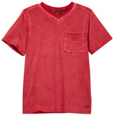 7 For All Mankind V-Neck Mineral Wash Tee (Big Boys)
