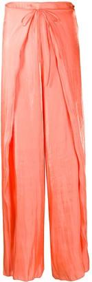 Kenzo Tie Front Fluid Trousers