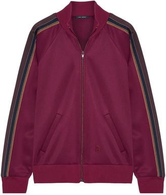 Marc Jacobs Striped Tech-jersey Jacket