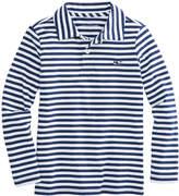 Vineyard Vines Boys Long-Sleeve Stripe Jersey Polo
