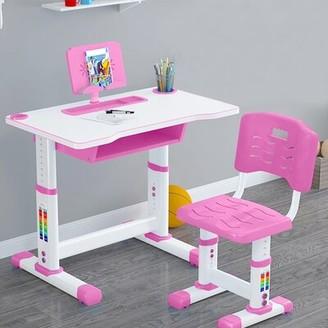 "Isabelle & MaxTM Tristan Children Study 31.90"" Art Desk and Chair Set Isabelle & Max"