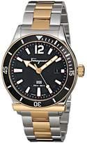 Salvatore Ferragamo Men's FF3160014 1898 Sport Analog Display Quartz Two Tone Watch