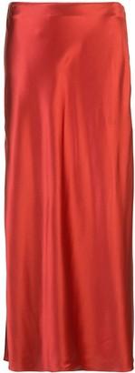 Fleur Du Mal Mid-Length Slip Skirt