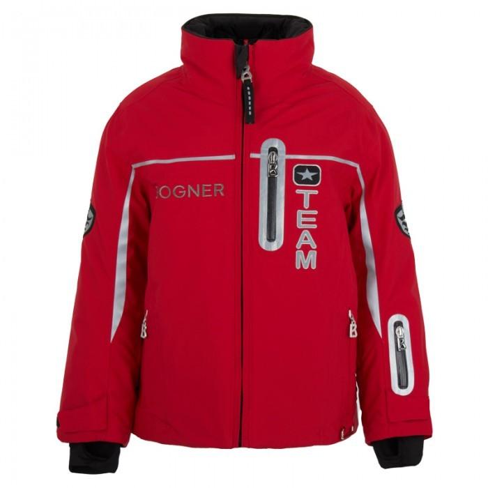 Bogner Red Technical Ski Jacket
