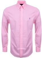 Ralph Lauren Long Sleeved Slim Fit Shirt Pink