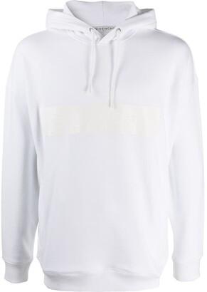Givenchy Logo Print Hooded Sweatshirt