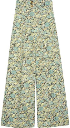 Gucci Liberty floral print trousers