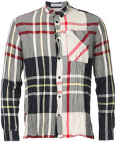 J.W.Anderson crinkle check shirt