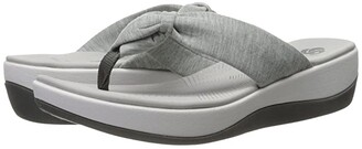 Clarks Arla Glison (Blue Heather Fabric) Women's Sandals